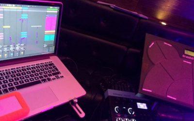 Ableton Handsfree Setup für Live Einsatz